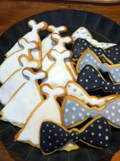 wedding cookies www.facebook.com/UglyFoodAndCo