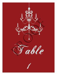 Custom Chandelier Wedding Wine Label Table Numbers or Anniversary Signature Table 4 Colors Available Chandelier Wedding, Wedding Wine Labels, Timeless Elegance, Table Numbers, Anniversary, Elegant, Unique Jewelry, Colors, Handmade Gifts