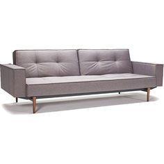 Stockholm Arm Sofa Gray