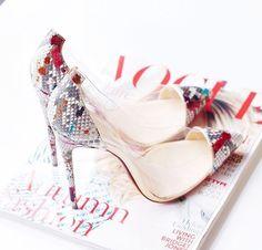 Image via We Heart It https://weheartit.com/entry/164194981 #heels #highheels #shoes #isitvogue