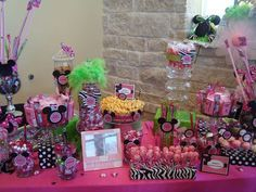 Minnie Mouse Birthday Party Ideas | Photo 9 of 115