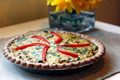Vegan Easter Brunch Ideas: quiche, scones, muffins, salads