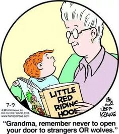 . Family Circle, Love My Family, Family Circus Cartoon, Grandma And Grandpa, Funny Cartoons, Funny Jokes, Family Dogs, Funny Family, Grandparents