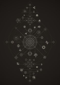 Cosmos   Lenguajes y Dinámicas on Behance / Sacred Geometry <3