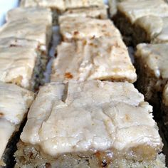 Banana Bread Bars with Brown Butter Frosting