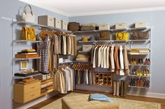 Rubbermaid Configurations Closet Kits are what I need to organize my closet!