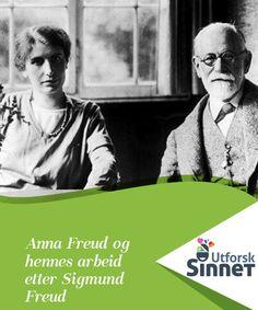 """Anna Freud og hennes arbeid etter Sigmund Freud   Anna Freud var en uønsket datter. Hun var den yngste av 6 barn og den eneste som ble en trofast og nesten selvfornektende disippel til faren Sigmund Freud. Hun var et """"marsvin"""" for psykoanalyse og også hans arving. En god del av det som Anna Freud bidro med innen barnepsykologi, var banebrytende og virkelig uvurderlig. Sigmund Freud, Anna, Movie Posters, Film Poster, Popcorn Posters, Film Posters, Poster"""