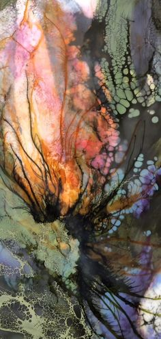Encaustic with mixed media by Alicia Tormey. Encaustic with mixed media by Alicia Tormey. Encaustic with mixed media by Alicia Tormey. Encaustic Painting, Painting & Drawing, Wall Drawing, Foto Macro, Inspiration Artistique, Nature Artwork, Watercolor Artists, Wall Art Designs, Wall Design