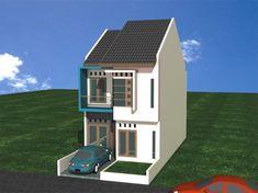 Model Rumah Minimalis Tipe Super Kecil 2 Lantai