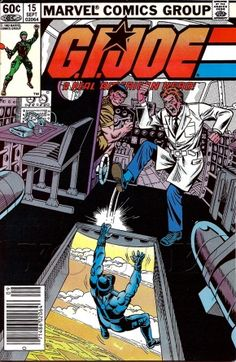 G.I. Joe Marvel Comics Issue# 15