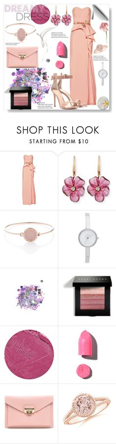 """""""Dreamy dresses #1"""" by pengy-vanou on Polyvore featuring Notte by Marchesa, Rina Limor, Michael Kors, DKNY, The Gypsy Shrine, Bobbi Brown Cosmetics, Yves Saint Laurent, PUR, Gianvito Rossi and polyvoreeditorial"""