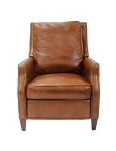 Henredon Leather Recliner - Recliners - Living Room - Furniture