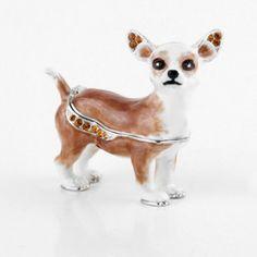 Chihuahua Dog Trinket Box