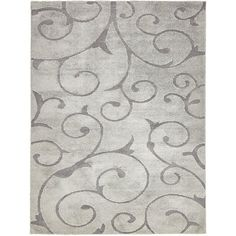 You'll love the Edinburg Floral Gray Area Rug at Wayfair - Great Deals on all Rugs products with Free Shipping on most stuff, even the big stuff.