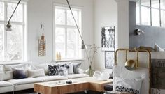 Hermosa casa estilo nórdico acogedor