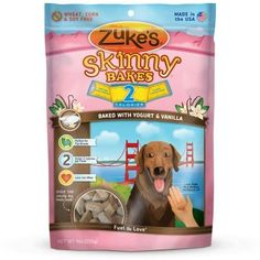 DOG TREATS - BISCUITS & COOKIE - SKINNY BAKES 2'S YOGURT/VANILLA 9OZ