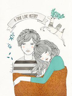 Image of Print Love History