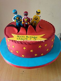 Power Rangers birthday ideas for Morgan's 4th B-day