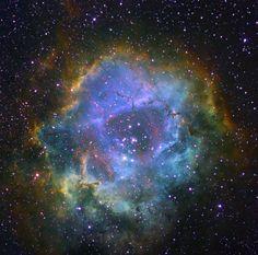 Rosette Nebula.