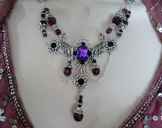 Victorian Necklace Renaissance Jewelry by TreasuresForAQueen