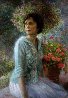 """Sue Ellen Korach"" -- by Steven Christopher Seward (b.1958, American)"