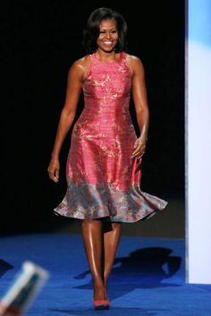 Michelle Obama, sin duda alguna una primera dama con mucho estilo.