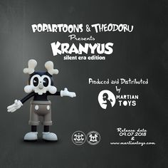 have the pleasure to announce that the second Kranyus colorway will be released next Friday toughen with the first Artist Edition Kranyus by For more informations and prices checkout the Vinyl Toys, The Martian, Behance, Gallery, Mars, Roof Rack