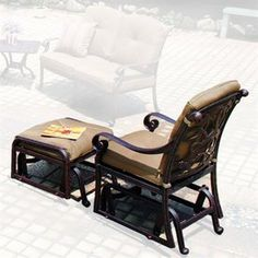 Fluff Your Outdoor Nest With Pier 1 | Gliders, Settees And Santa Barbara
