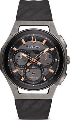 Bulova Watch Curv Chronograph Mens