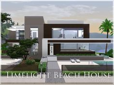 Limelight Beach House by aloleng - Sims 3 Downloads CC Caboodle