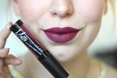 REVIEW • LA GIRL MATTE FLAT FINISH PIGMENT LIP GLOSS REBEL