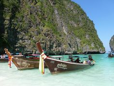 A look at Phi Phi Islands in Thailand's spectacular seascape.