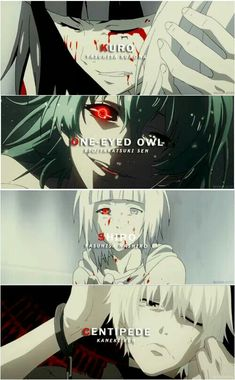 Tokyo Ghoul | this is way too depressing fuck me