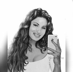Selena fan art..this is cute