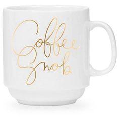 Easy,Tiger Coffee Snob Mug Gold By