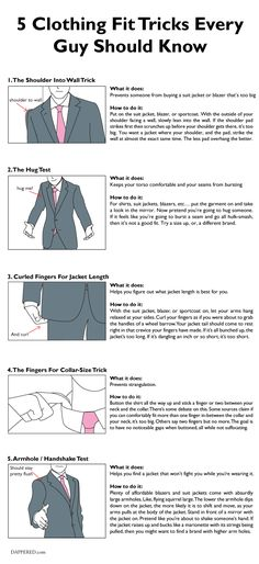 "5 Clothing ""Fit Tricks"" Every Guy Should Know"