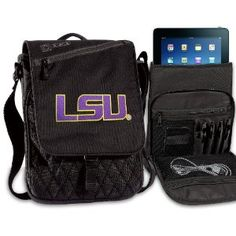 LSU Tigers IPAD BAGS TABLET CASES LSU College Logo Holders Tablets, E-readers Netbooks Ipads, Ipad 2, Kindle, Nook (Electronics) http://postteenageliving.com/amazon.php?p=B007JN2R8O