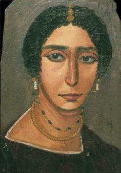 Portrait du Fayoum / Art sacré / Peinture dessin sculpture ...
