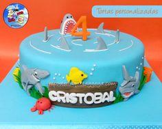 Torta Tiburón Shark Cake https://www.facebook.com/QuetayYeya