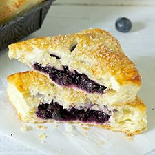 Blueberry hand pies @ King Arthur Flour