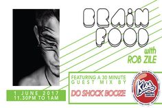 Do Shock Booze – 30 minute guest mix on Brain Food – 11.30pm to 1am – 1st of June  Do Shock Booze (pronounced: Doushokubutsu) is the pseudonym of DJ Yoichi Hayashi.  He built his career as a rock band singer and guitarist in the late 90's.  His modern psychedelic tech house tracks have the scent o