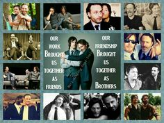 I love the Rickyl  or i guess the Normdrew :) they are amazing actors and you can tell that they really care about each other (as brothers) :) Andrew Lincoln and Norman Reedus Forever!
