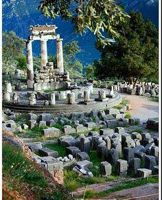 Sanctuary of Athena. #Greece #Grecia #Sabiduria