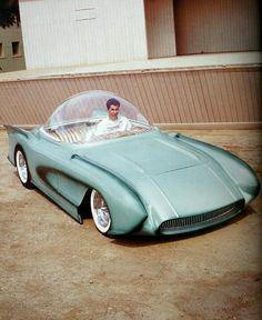 Vintage Show Rods: The Crazy Show Cars - Fosil Fueled - Fosil Fueled Auto Retro, Retro Car, Weird Cars, Limousine, Futuristic Cars, Unique Cars, Top Cars, Future Car, Car Photos