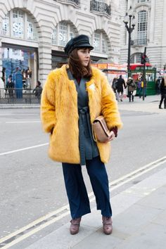 Street Style : Pin for Later: See All the Best Street Style From LFW LFW Street Style Day 3