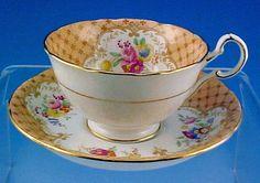 Vintage English Royal Grafton Bone China Tea Cup