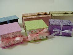 Pistache by Kei Okuma: Caixas para Lembrancinhas em Cartonagem