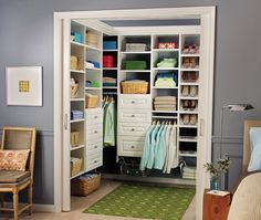 Use our closet design tool or free design service to plan your dream space. When you order your EasyClosets storage solution, it ships the next business day and is easy to install. That means you can make the most of your new, stylish closet sooner. And, with our exceptional quality materials - what's not to love? (This would probably be totally worth it...)