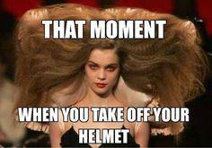 Whoa! Helmet head?! Shoreline Harley Davidson www.shorelinehd.com