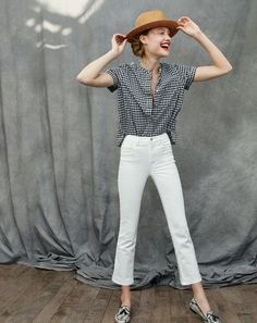 What we do at J.Crew: killer denim. In a world where $250 jeans are the new normal, we're proud to say that ours are half the price (and twice as flattering).
